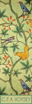 Birds and Squirrel in Tree Bookmark