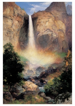 Bridalveil Falls, Yosemite Valley Notecard