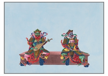 Buddhist Deities Postcard