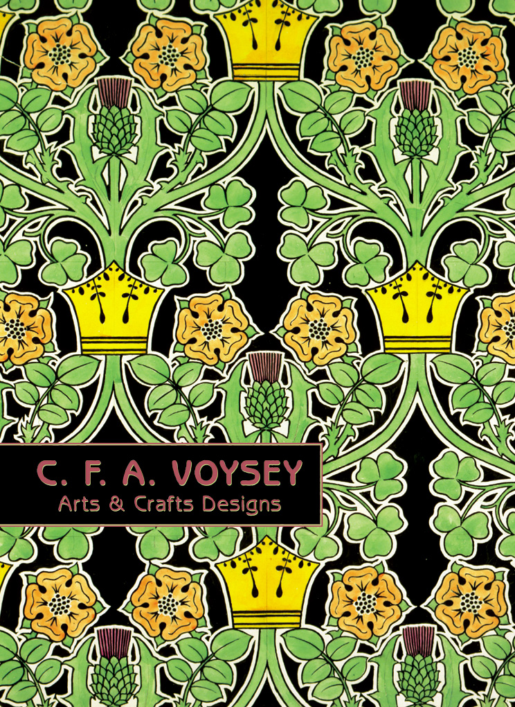C F A Voysey Arts Crafts Designs Boxed Notecards