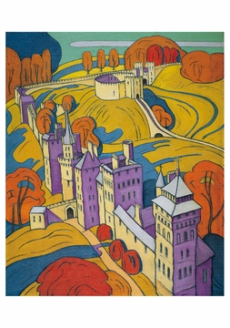Cardiff Castle Notecard