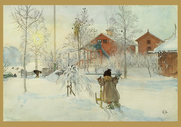 Carl Larsson: The Yard Holiday Cards