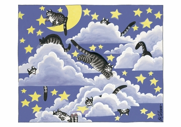 Cats in the Clouds Notecard