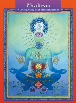 Chakras: A Coloring Book by Paul Heussenstamm