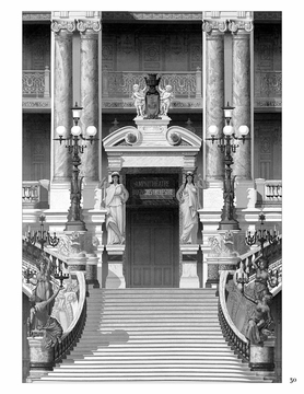 Charles Garnier: Designs for the Paris Opera House Colouring Book