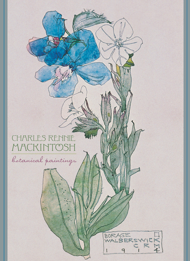charles rennie mackintosh botanical paintings boxed notecards. Black Bedroom Furniture Sets. Home Design Ideas