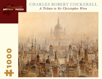 Charles Robert Cockerell: A Tribute to Sir Christopher Wren 1,000-piece Jigsaw Puzzle