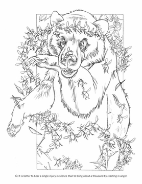 aesops fables coloring pages - photo#21