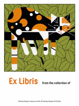 Charley Harper: Limp on a Limb Bookplates