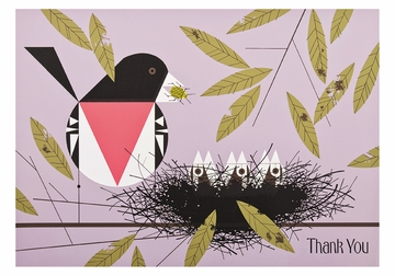 Charley Harper: Rose-breasted Grosbeak Boxed Thank You Notes