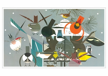 Charley Harper: Winter Holiday Cards