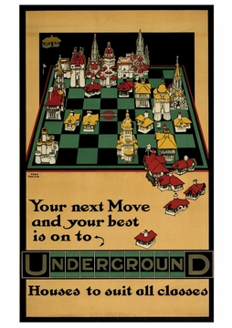 Your Next Move; Chessboard Notecard