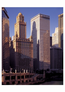 Chicago: The River and Its Architecture Boxed Notecards
