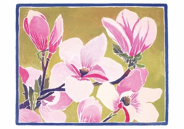 Chinese Magnolia Notecard