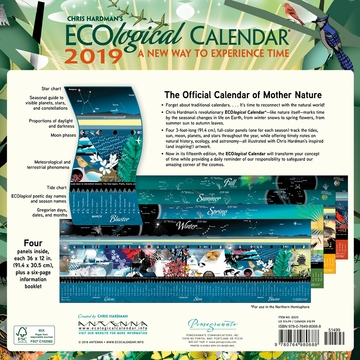 Chris Hardman's ECOlogical Wall Calendar 2019: A New Way to Experience Time