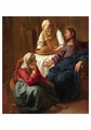 Christ in the House of Martha and Mary Notecard