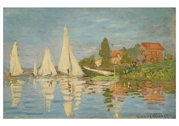 Claude Monet: Sailboats Notecard Folio