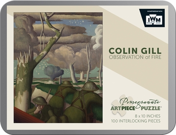 Colin Gill: Observation of Fire 100-piece Jigsaw Puzzle