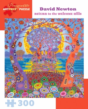 David Newton: Return to the Welcome Hills 300-Piece Jigsaw Puzzle