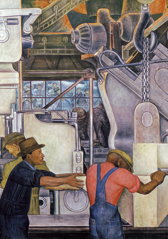 Diego rivera detroit industry murals boxed notecards for Diego rivera detroit mural