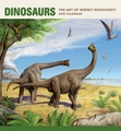 Dinosaurs: The Art of Sergey Krasovskiy 2019 Wall Calendar