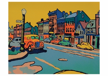 East Broadway, Buffalo Notecard