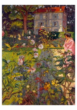 Edouard Vuillard: Garden at Vaucresson Notecard