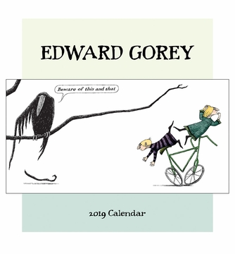 Edward Gorey 2019 Mini Wall Calendar