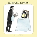 Edward Gorey: Bustopher Jones Coasters
