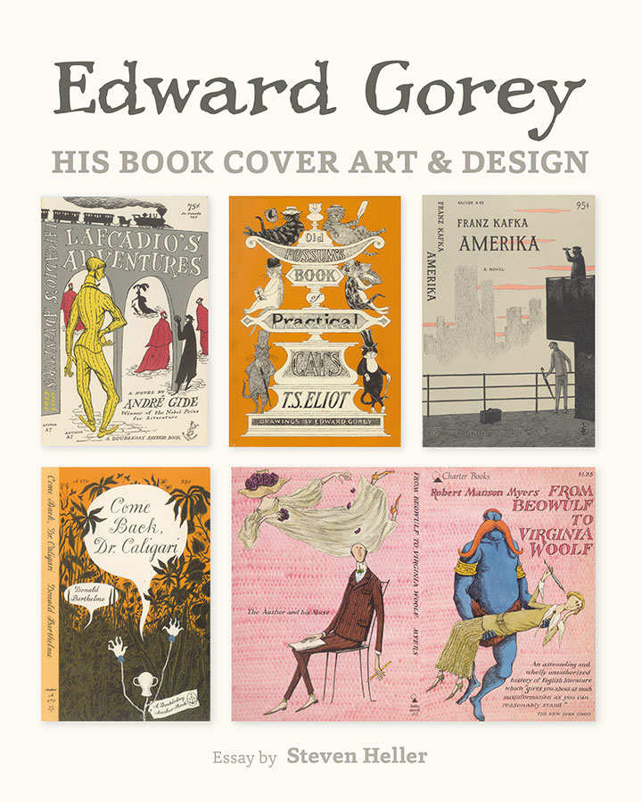 Book Cover Design Craft : Edward gorey his book cover art design