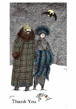 Edward Gorey: Thank You Note Boxed Thank You Notes
