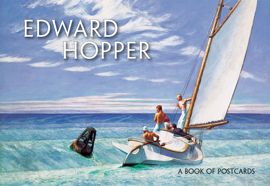 Edward Hopper Book Of Postcards