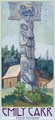 Emily Carr: Four Totems Panoramic Boxed Notecards