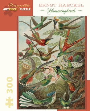 Ernst Haeckel: Hummingbirds 300-Piece Jigsaw Puzzle