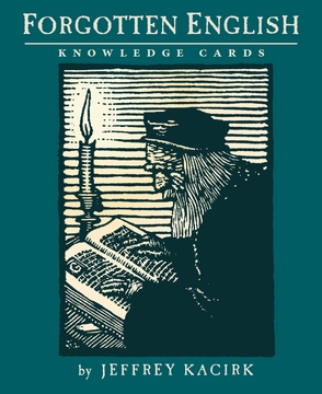Forgotten English Knowledge Cards