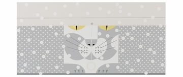 Four-Season Felines Panoramic Boxed Notecards