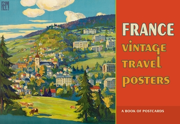 France: Vintage Travel Posters Book of Postcards