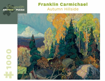 Franklin Carmichael: Autumn Hillside 1,000-piece Jigsaw Puzzle