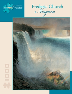 Frederic Church:  Niagara 1000-piece Jigsaw Puzzle