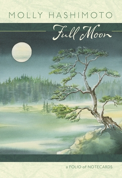 Full Moon Notecard Folio