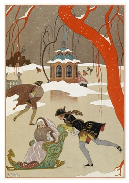 George Barbier: Fêtes Galantes Holiday Cards