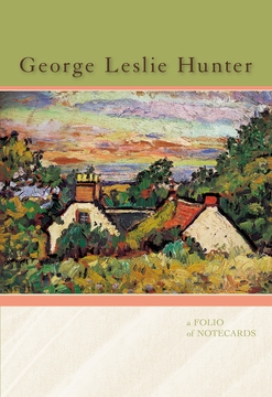 George Leslie Hunter Notecard Folio