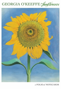 Georgia O'Keeffe: Sunflowers Notecard Folio
