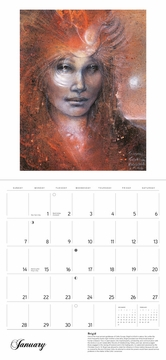 Goddesses: Paintings by Susan Seddon Boulet 2018 Wall Calendar