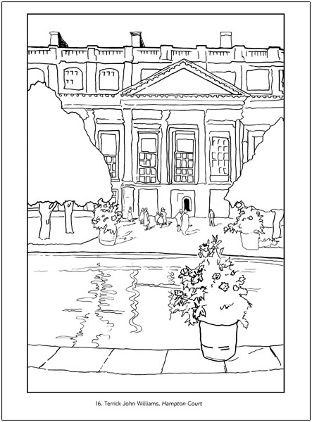 courthouse coloring pages - photo#8