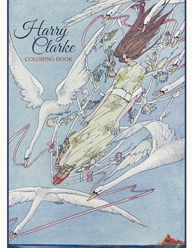 harry clarke coloring book