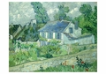 Houses at Auvers Notecard