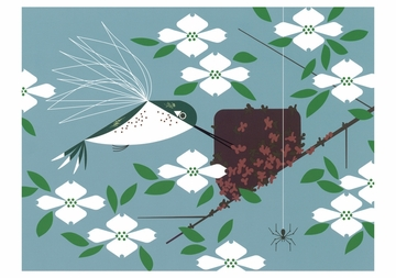 Hummingbird Homemaker Notecard
