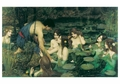 Hylas and the Nymphs Notecard