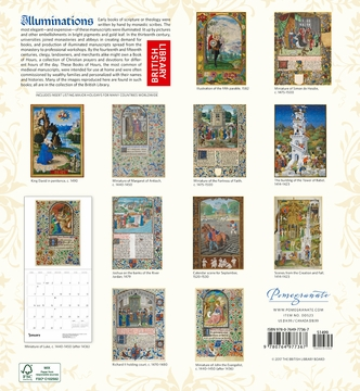 Illuminations 2018 Wall Calendar